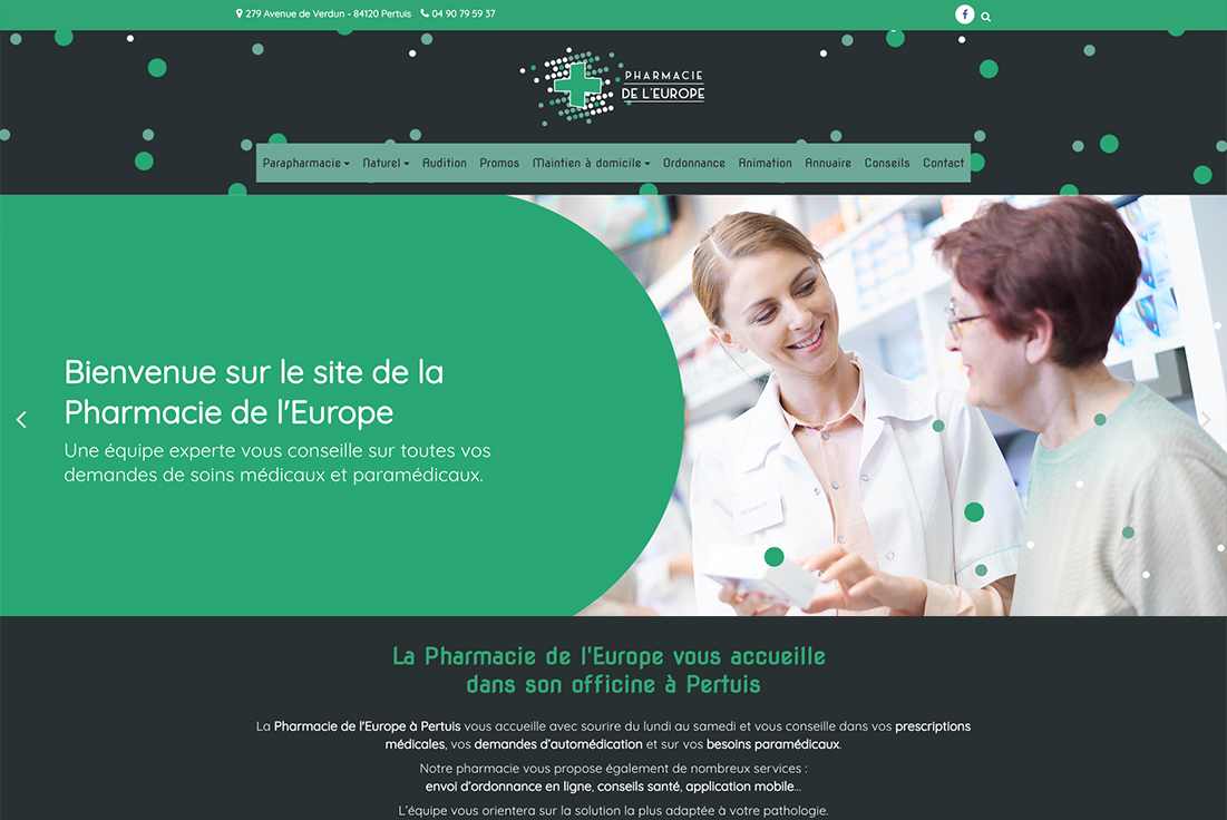 site-internet-pharmacie-europe