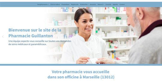 site-internet-pharmacie-guillanton