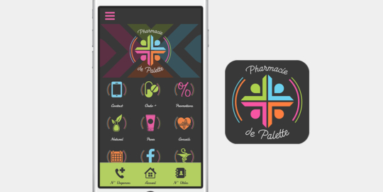 pharmacie-palette-application-mobile