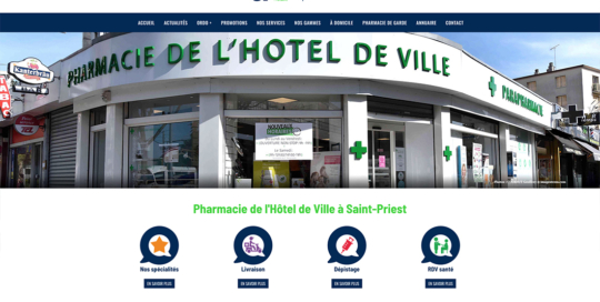 site internet pharmacie 37 degrés