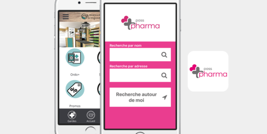 application mobile passpharma ceido