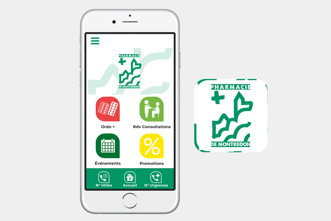 Application mobile pour pharmacie
